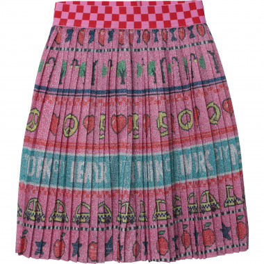 Pleated skirt with motifs THE MARC JACOBS for GIRL