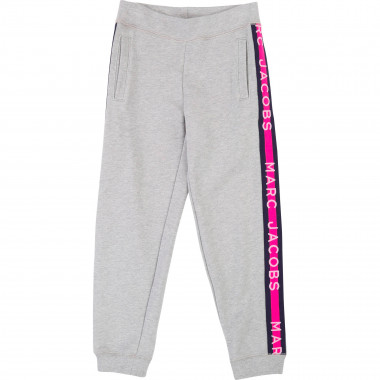 Jogging bottoms with bands LITTLE MARC JACOBS for GIRL