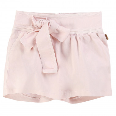 Denim shorts with bow LITTLE MARC JACOBS for GIRL