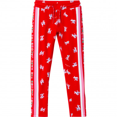 Printed jogging trousers THE MARC JACOBS for GIRL