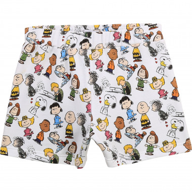 Printed fleece shorts THE MARC JACOBS for GIRL
