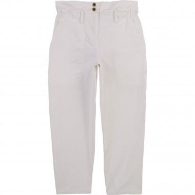 Cotton twill trousers THE MARC JACOBS for GIRL