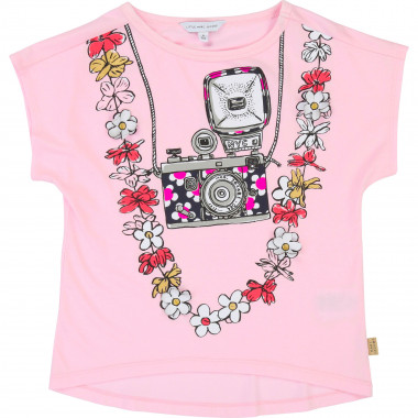 Decorative patterned T-shirt LITTLE MARC JACOBS for GIRL