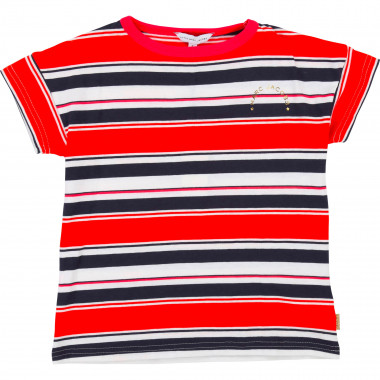 Short-sleeved striped T-shirt LITTLE MARC JACOBS for GIRL