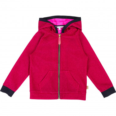 Metallic hooded sweatshirt LITTLE MARC JACOBS for GIRL