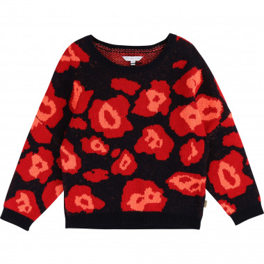 Multicoloured jacquard jumper THE MARC JACOBS for GIRL