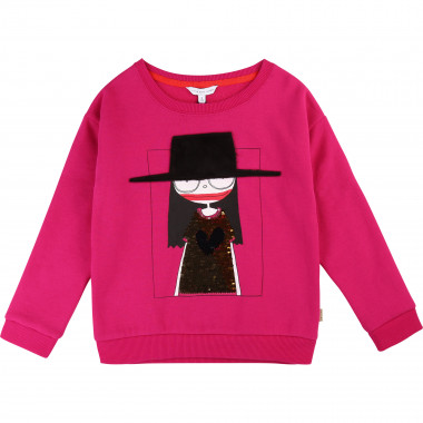 Sweatshirt with flip sequins LITTLE MARC JACOBS for GIRL