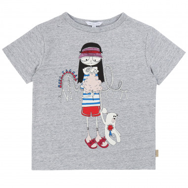 Illustrated cotton T-shirt LITTLE MARC JACOBS for GIRL