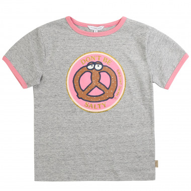 Cotton T-shirt with print LITTLE MARC JACOBS for GIRL