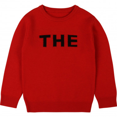 Wool and cashmere jumper THE MARC JACOBS for GIRL