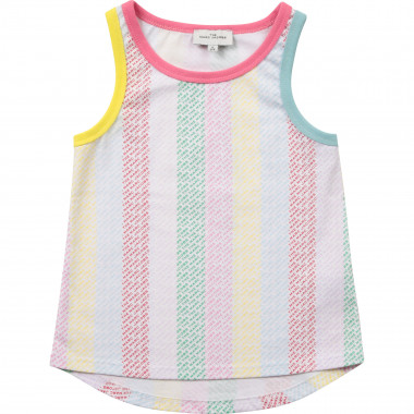 Multicoloured cotton sleeveless top THE MARC JACOBS for GIRL
