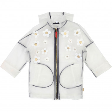 Transparent floral raincoat LITTLE MARC JACOBS for GIRL