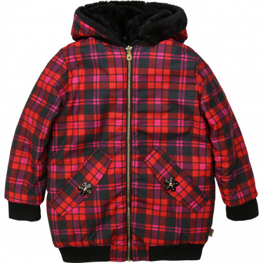Reversible hooded jacket LITTLE MARC JACOBS for GIRL
