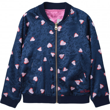 Zip-up reversible jacket THE MARC JACOBS for GIRL