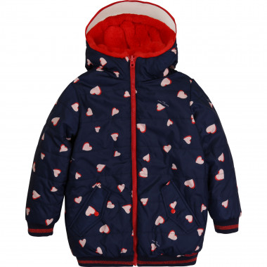 Reversible puffer with hood THE MARC JACOBS for GIRL