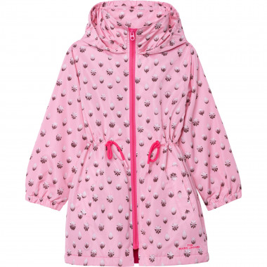 Hooded raincoat THE MARC JACOBS for GIRL