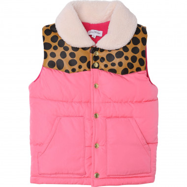 Sleeveless puffer jacket THE MARC JACOBS for GIRL