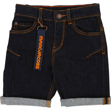 Denim bermuda shorts LITTLE MARC JACOBS for BOY