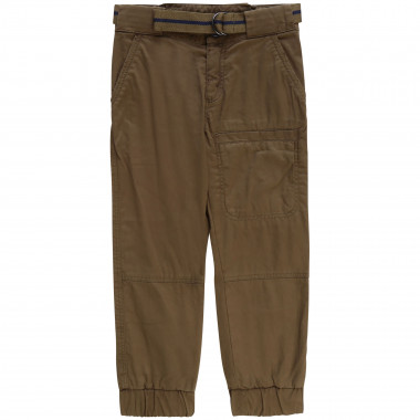 Canvas cargo trousers THE MARC JACOBS for BOY