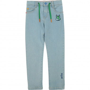 Stretch cotton patched jeans THE MARC JACOBS for BOY