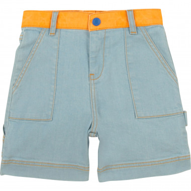 Stretch cotton denim shorts THE MARC JACOBS for BOY