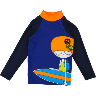 UV-protection swim T-shirt LITTLE MARC JACOBS for BOY
