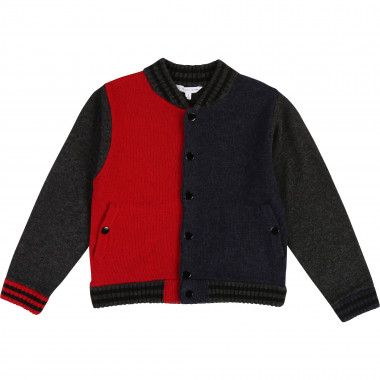 Colour block cardigan LITTLE MARC JACOBS for BOY