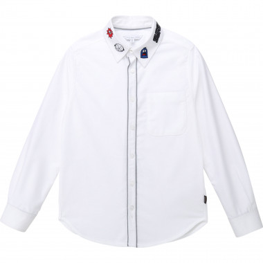 Embroidered cotton shirt THE MARC JACOBS for BOY