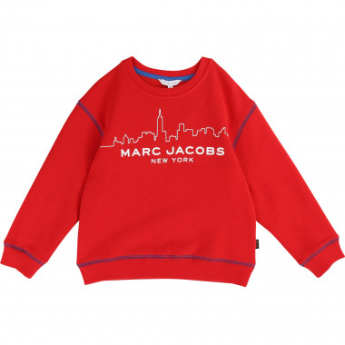 Brushed fleece jumper LITTLE MARC JACOBS for BOY