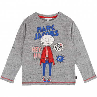 Long-sleeved cotton T-shirt THE MARC JACOBS for BOY