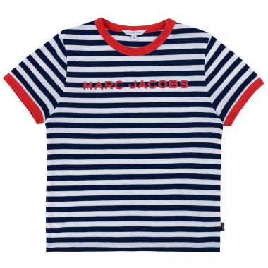 Short-sleeved striped T-shirt THE MARC JACOBS for BOY