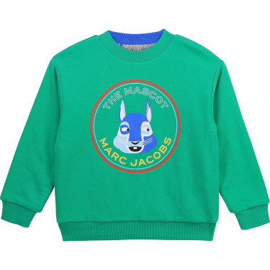 Reversible cotton sweatshirt THE MARC JACOBS for BOY