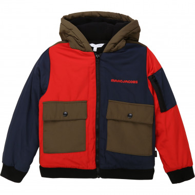 Fleece-lined hooded jacket THE MARC JACOBS for BOY