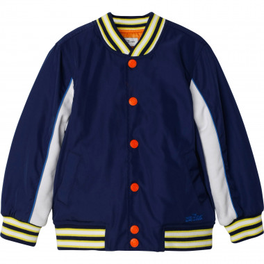 Dual-material bomber jacket THE MARC JACOBS for BOY