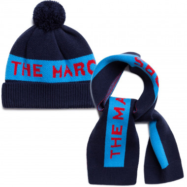 Hat and scarf set THE MARC JACOBS for BOY