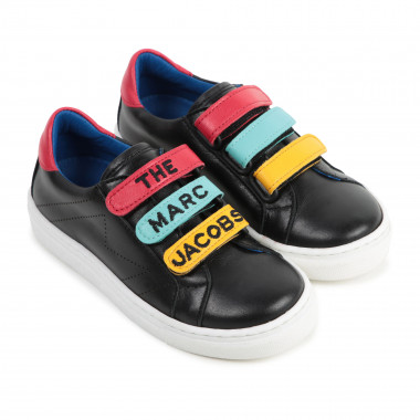 Leather trainers with Velcro THE MARC JACOBS for BOY