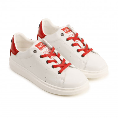 Lace-up leather trainers THE MARC JACOBS for BOY