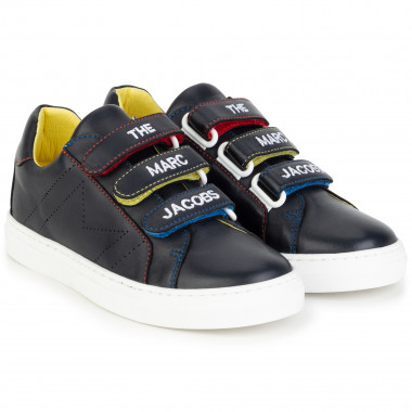 Leather hook-and-loop trainers THE MARC JACOBS for BOY