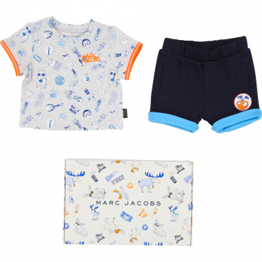 Interlock T-shirt and shorts LITTLE MARC JACOBS for BOY