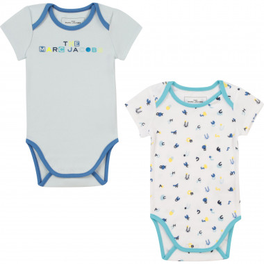 2-pack of cotton bodysuits THE MARC JACOBS for UNISEX