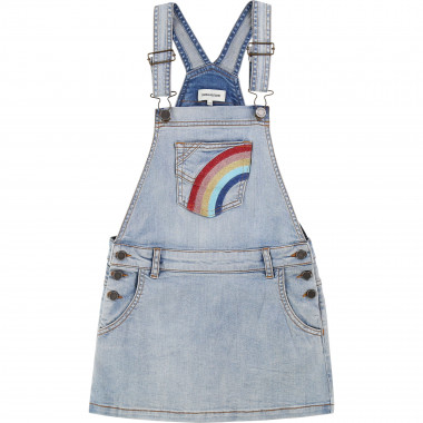 Denim pinafore dress ZADIG & VOLTAIRE for GIRL