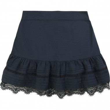 Voile skirt with ruffle ZADIG & VOLTAIRE for GIRL