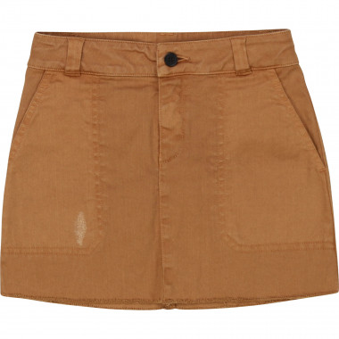 Adjustable cotton drill skirt ZADIG & VOLTAIRE for GIRL