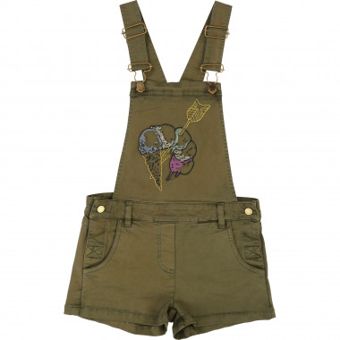 Short embroidered dungarees ZADIG & VOLTAIRE for GIRL