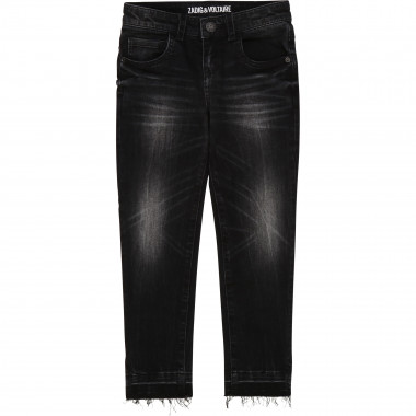 5-pocket denim trousers ZADIG & VOLTAIRE for GIRL