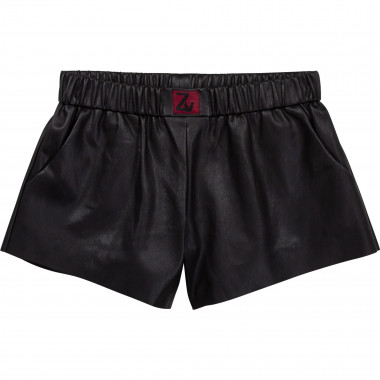 Faux leather shorts ZADIG & VOLTAIRE for GIRL