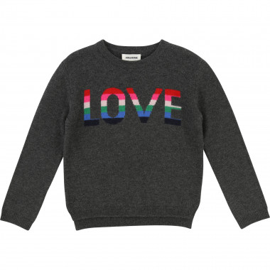 Wool and cashmere jumper ZADIG & VOLTAIRE for GIRL
