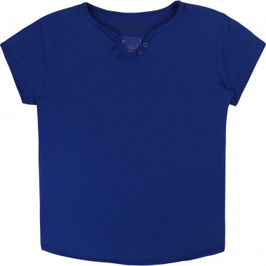Jersey and fishnet t-shirt ZADIG & VOLTAIRE for GIRL