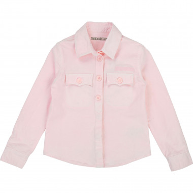 Stretch cotton shirt ZADIG & VOLTAIRE for GIRL