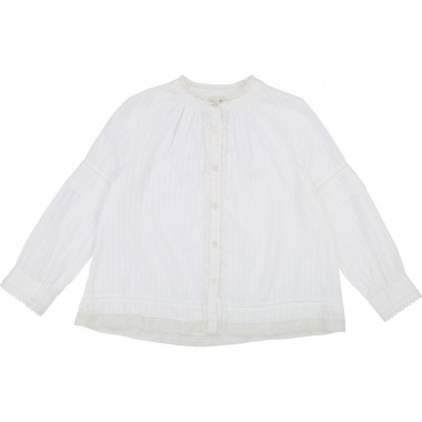 Long-sleeved cotton shirt ZADIG & VOLTAIRE for GIRL